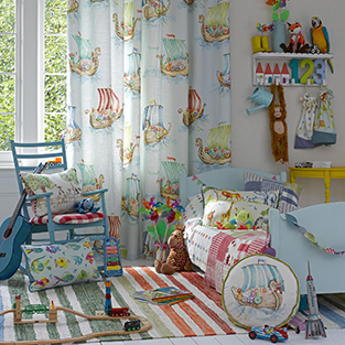 Start with a great children's fabric