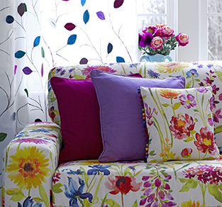 1.	MIX AND MATCH COLOURFUL CUSHIONS