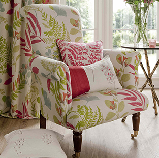 4.	ADD AN UPHOLSTERED STATEMENT CHAIR