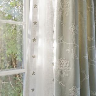 Is linen a good fabric for curtains?