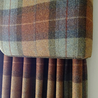 Can you use upholstery fabric for curtains?