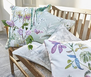 Country style floral fabrics