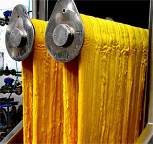 How silk fabric is made