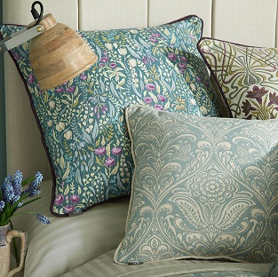 William Morris fabric for a contemporary look