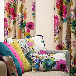 Five Ways To Use Floral Fabric Effectively Just Fabrics