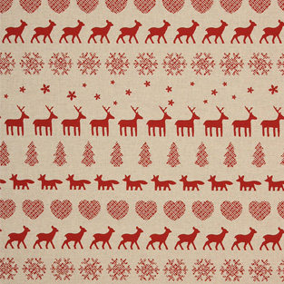 Christmas Forest Fabric