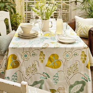 Lift your garden scheme with floral fabric