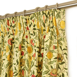 Why buy William Morris ready made curtains