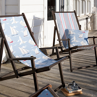 Take your maritime fabric outside