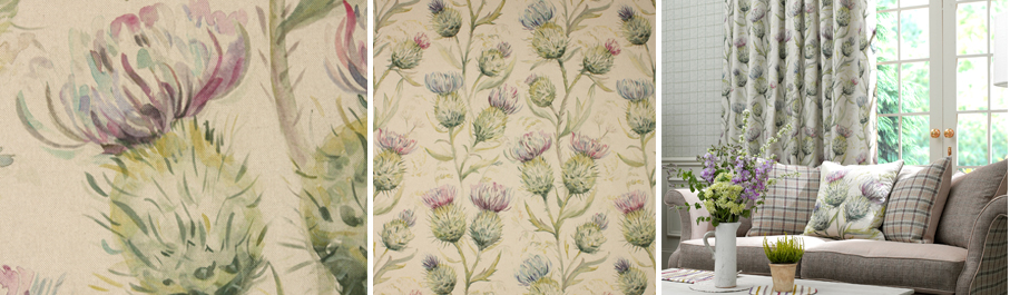 New Thistle Fabric