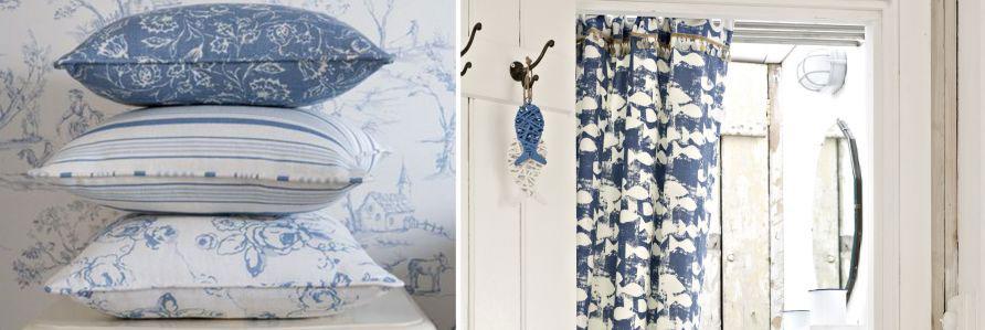 Indigo Fabric Collection