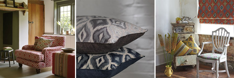 Ikat Fabric Collection
