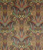 Jungle Jaguar / Carnelian Fabric