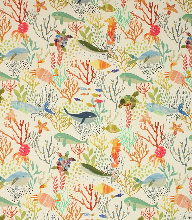 Prestigious Textiles Bubbles Fabric / Jungle