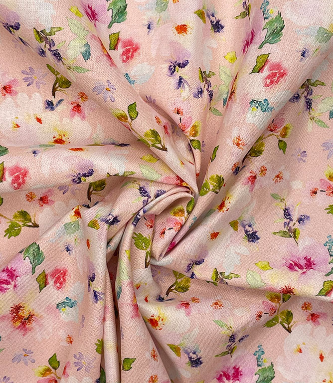 Meadow Fabric / Candy Pink