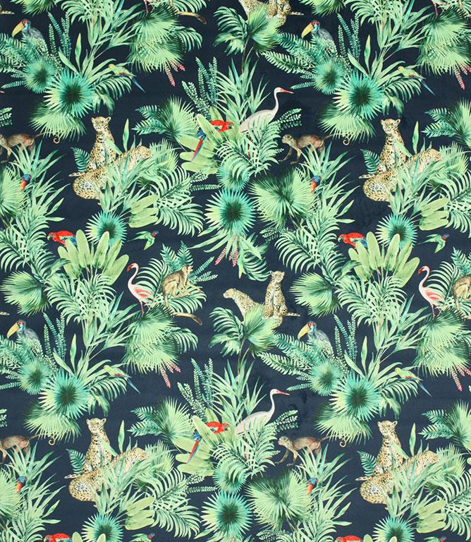 Brazilian Velvet Fabric / Navy