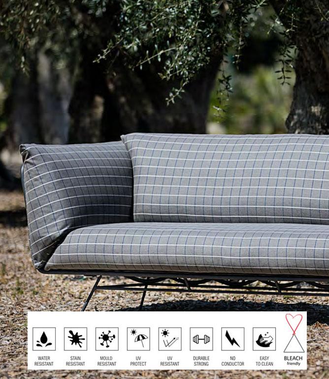 Alicante Fabric / Natural