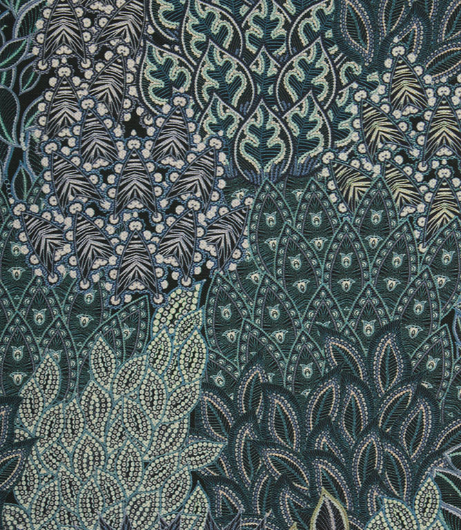 Agave Rainforest Fabric / Indigo