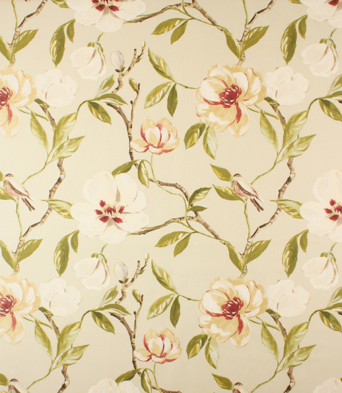 Chinoise fabric chintz for Chintz fabric