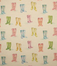 Welly Boots Fabric