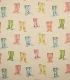 Welly Boots Fabric / Linen