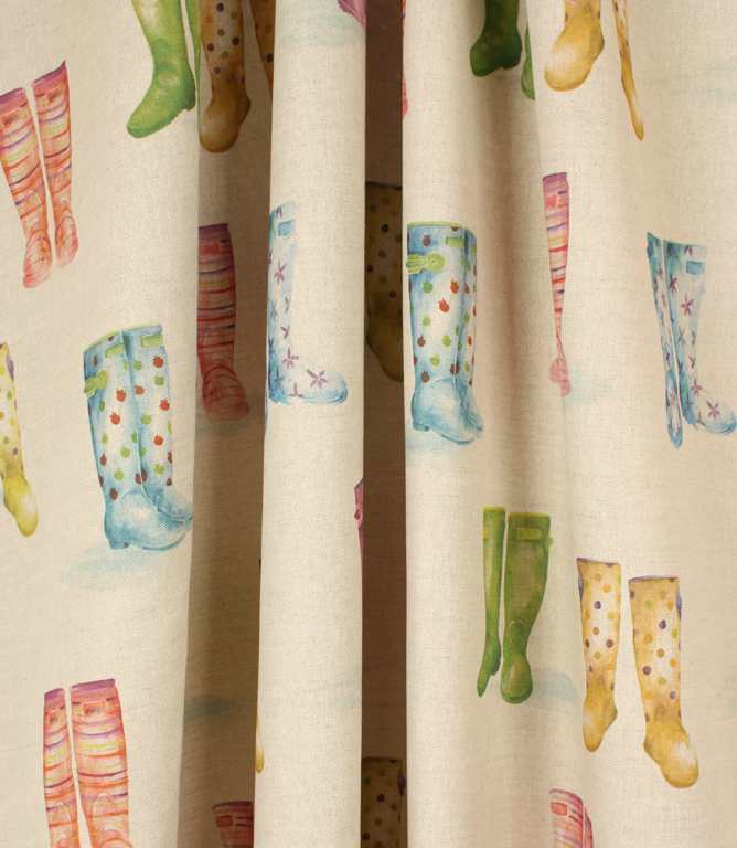Voyage Decoration Welly Boots Fabric / Linen