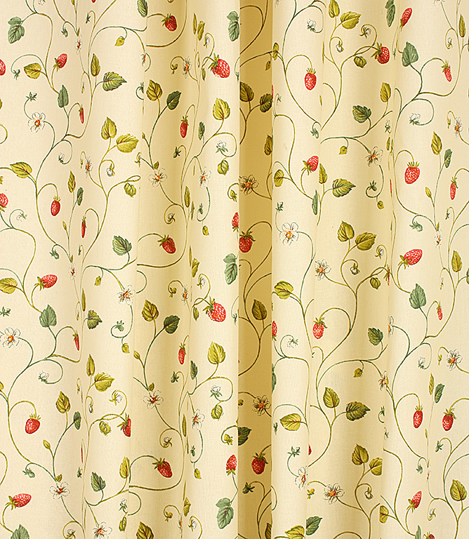 Strawberry Fair Fabric / Red