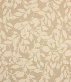 Leaf Trail / Linen Fabric Remnant