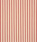 Stella Ticking / Red Fabric