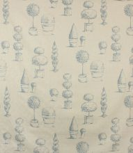 Made to Measure Topiary Fabric / Wedgewood