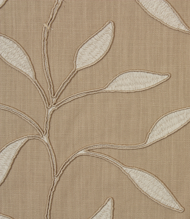 Voyage Decoration Laurel Fabric / Cashew