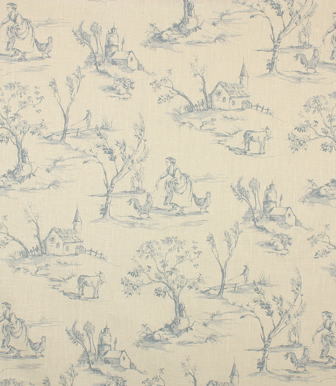 Helena Fabric / Wedgewood
