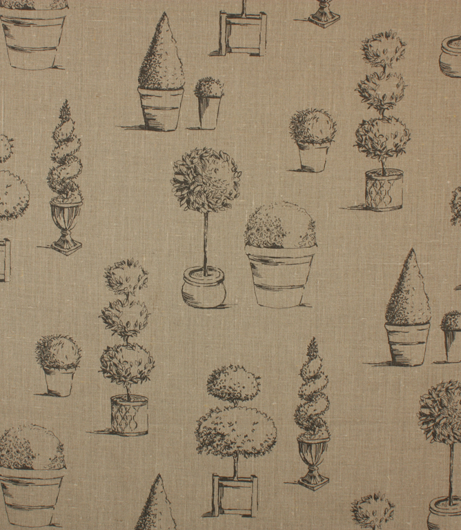 Topiary Fabric / Linen
