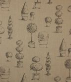 Topiary / Linen Fabric