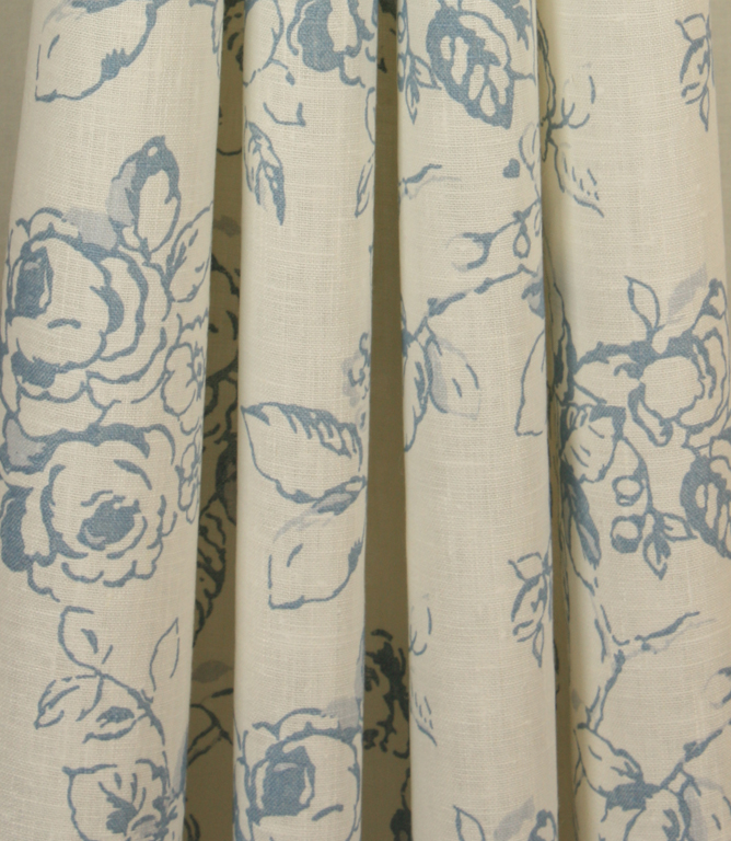 Delphine Fabric Wedgewood Just Fabrics