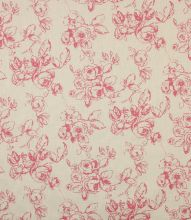 Made to Measure Delphine Fabric / Raspberry