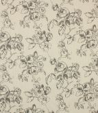 Delphine Fabric / Charcoal