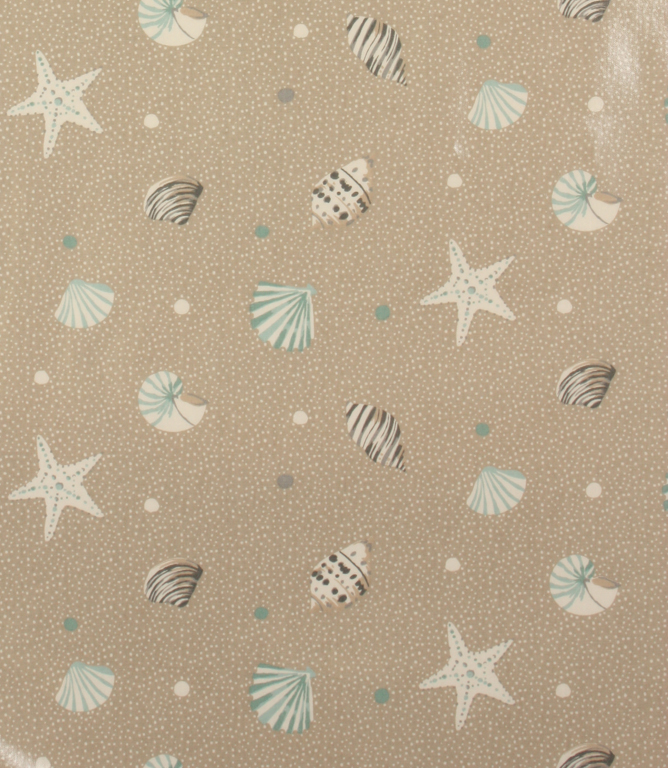 Pvc Seashells Fabric Surf Just Fabrics