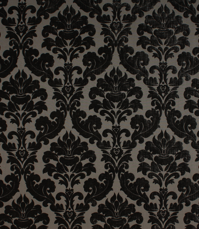 Voyage Decoration Lucilla Fabric / Charcoal
