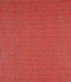 PVC Vichi / Red Fabric