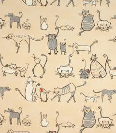Cat & Mouse Fabric
