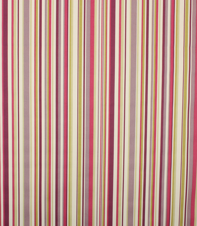 Purple Funky Stripe Fabric
