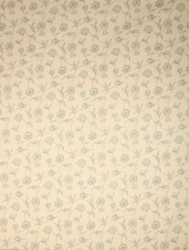 Duck Egg Fulbrook Linen Fabric Remnant