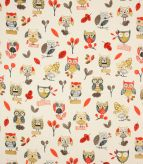 Ollie Owl / Red Fabric