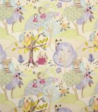 Woodland Friends Fabric / Lavender