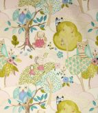 Woodland Friends Fabric / Rose