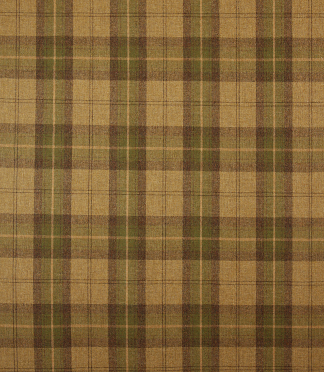 Voyage Decoration Stroma Wool Plaid Fabric Moorland