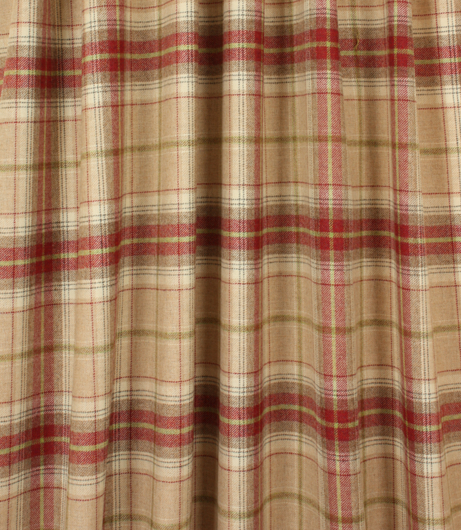 Balmoral Fabric / Raspberry