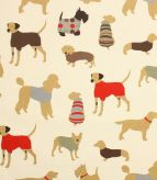 Mans Best Friend Fabric / Cinnamon