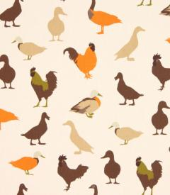 Cock a Leekie Fabric